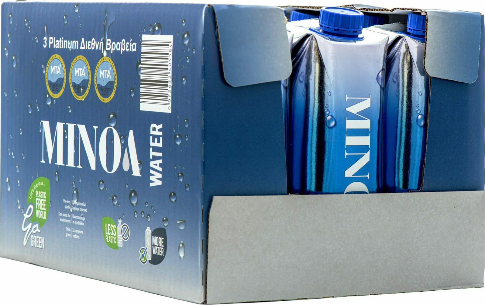 You are currently viewing WaterFresh presents the new Premium boxed water MINOA